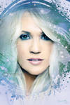 Carrie Underwood painting
