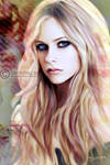 Avril Lavigne Painting