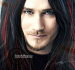 Tuomas Holopainen (Nightwish) painting