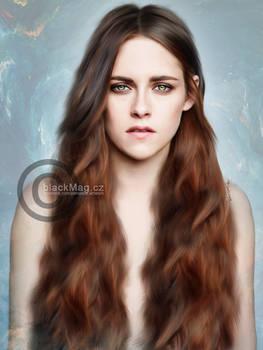 Kristen Stewart Painting