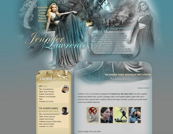 Jennifer Lawrence  design by perlaque