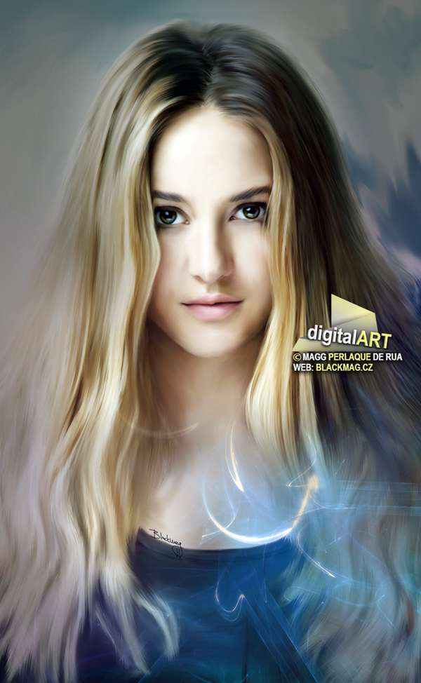 Tris Digital Painting by perlaque