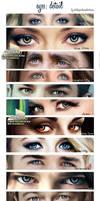 Digital Painting - eyes by perlaque