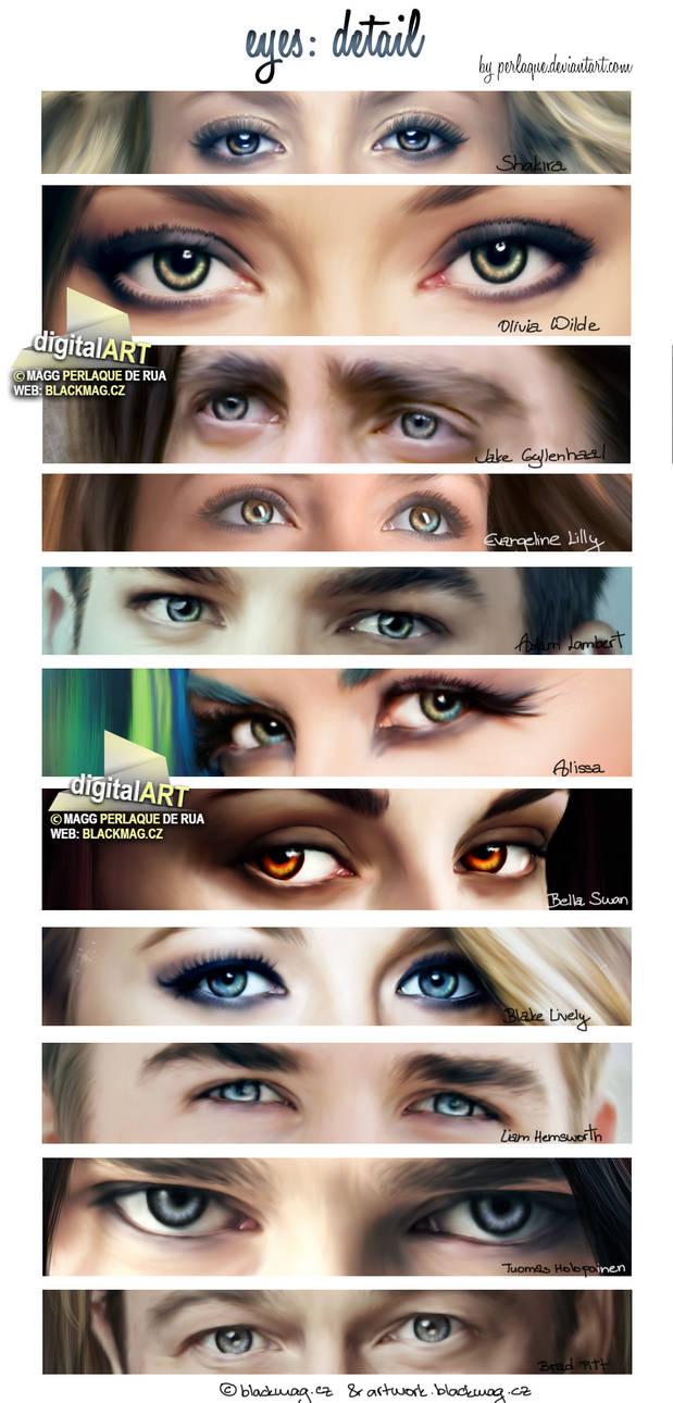 Digital Painting - eyes