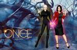 Dark Swan and Regina Mills - Swan Queen