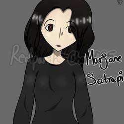 Marjane Satrapi(Request for SonicMasterHero)