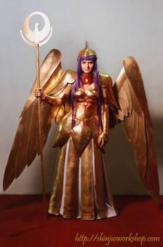 Athena Saint Seiya cloth cosplay