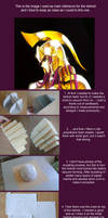 Saint Seiya Athena helmet tutorial