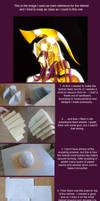 Saint Seiya Athena helmet tutorial by ShinjusWorkshop