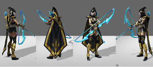 Ashe League of Legends Reference 1