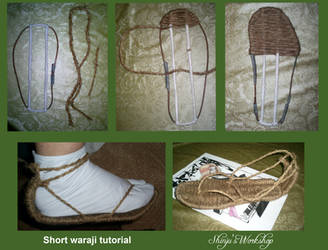 Simple way to make waraji