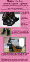 Vi League of Legends Shoes Tutorial by ShinjusWorkshop