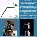 Ashe Hood pattern and tutorial