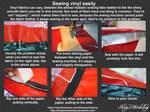 Sewing Vinyl Tutorial