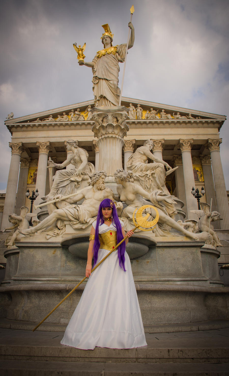 Athena Saint Seiya - dress version