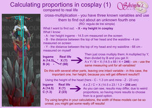 Calculating proportions in cosplay (1)