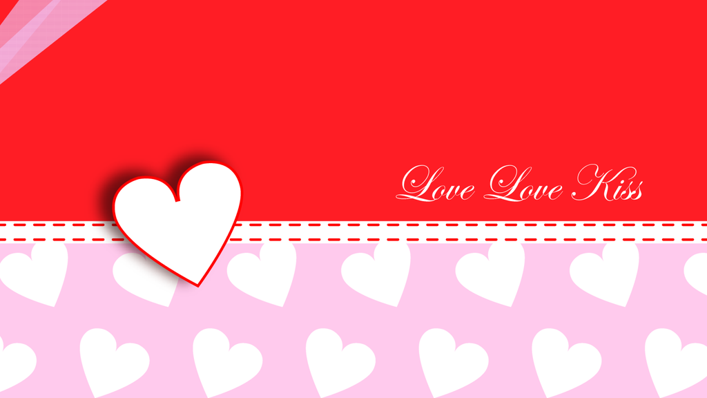 wallpaper love kiss. Love Love Kiss Wallpaper by