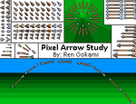 Pixel: Arrow Study