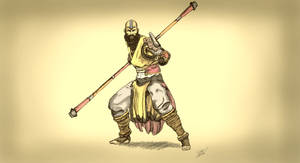Diablo Monk
