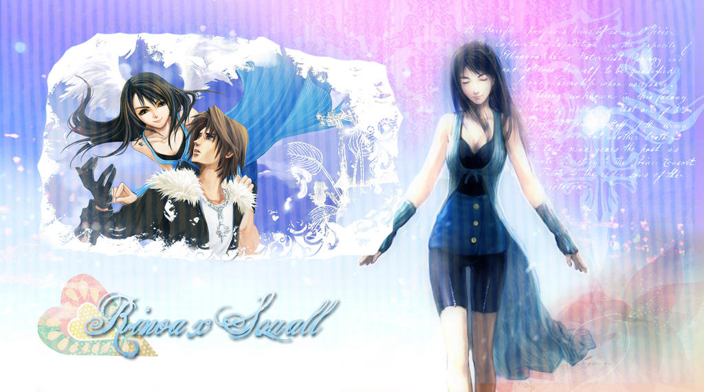Squall And Rinoa Wallpaper Squall x Rinoa Wallpaper by