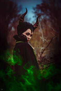 Cosplay Maleficent