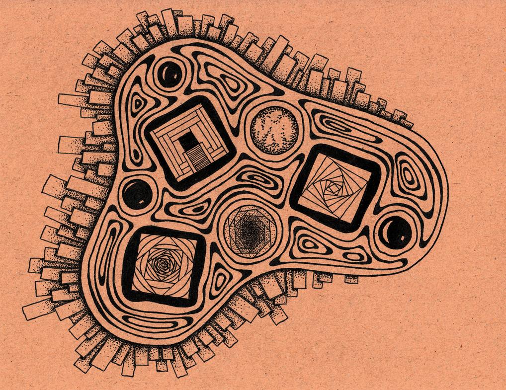 Eukaryote (Inktober 2016, 5/31) by MartchZagorski