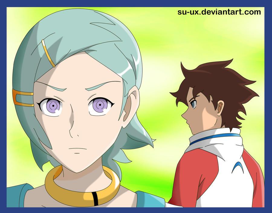 Eureka and Renton by Su-uX