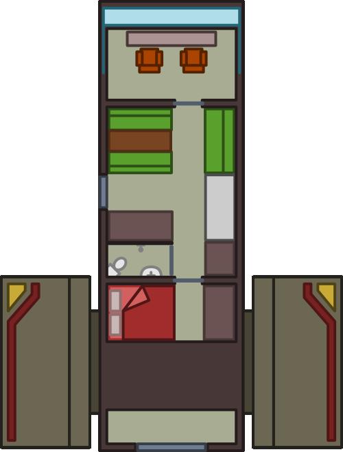 Small Starship Interior by Oriet on DeviantArt