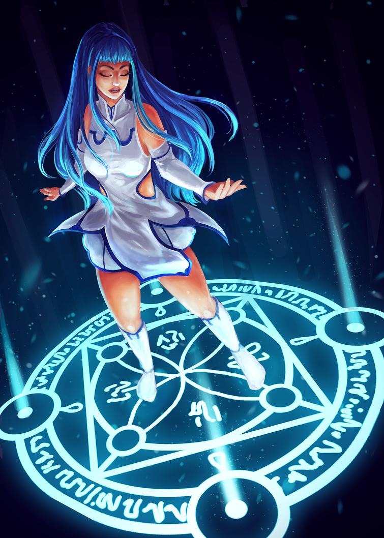 Gathering Magic by wawa711
