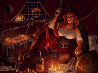 Captain's Cabin by elaina-f