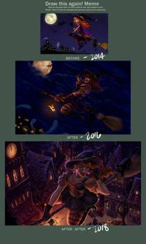 Draw it Again: Halloween Edition