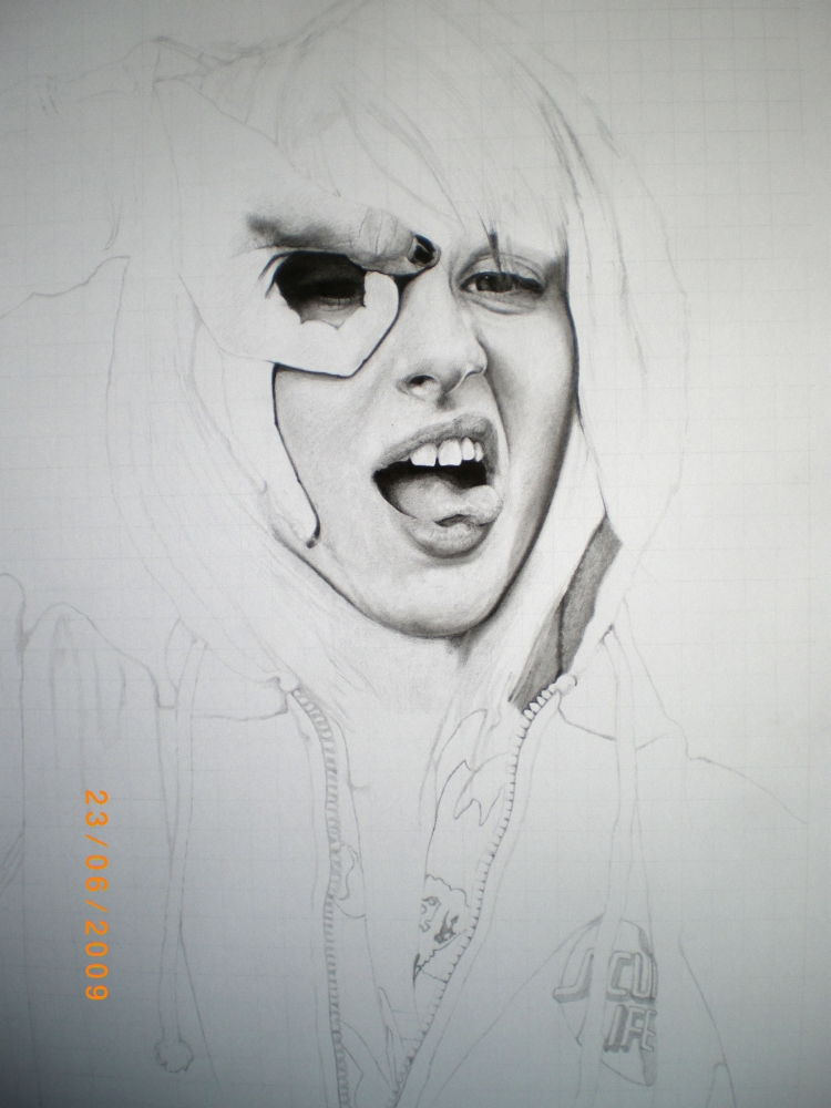 Hayley Williams WIP1 by Bastiensburg