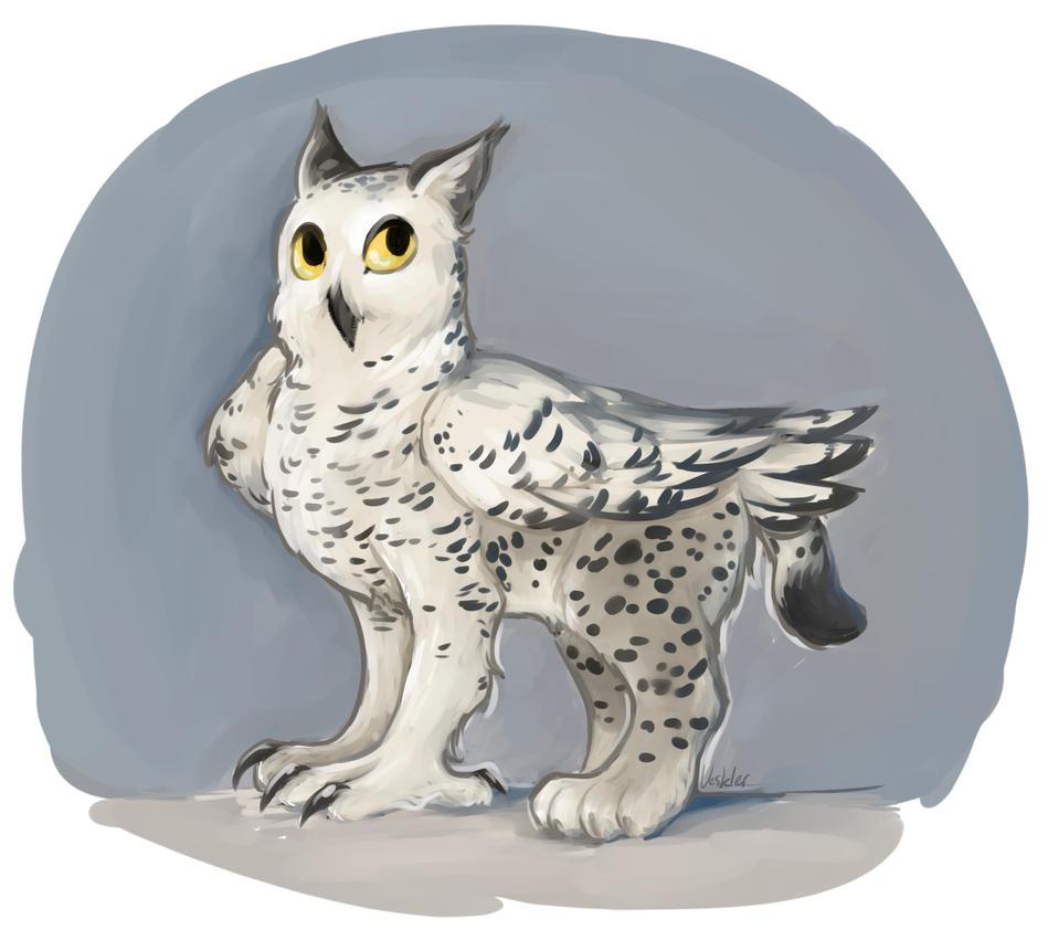 Snowy Griffon by Veskler