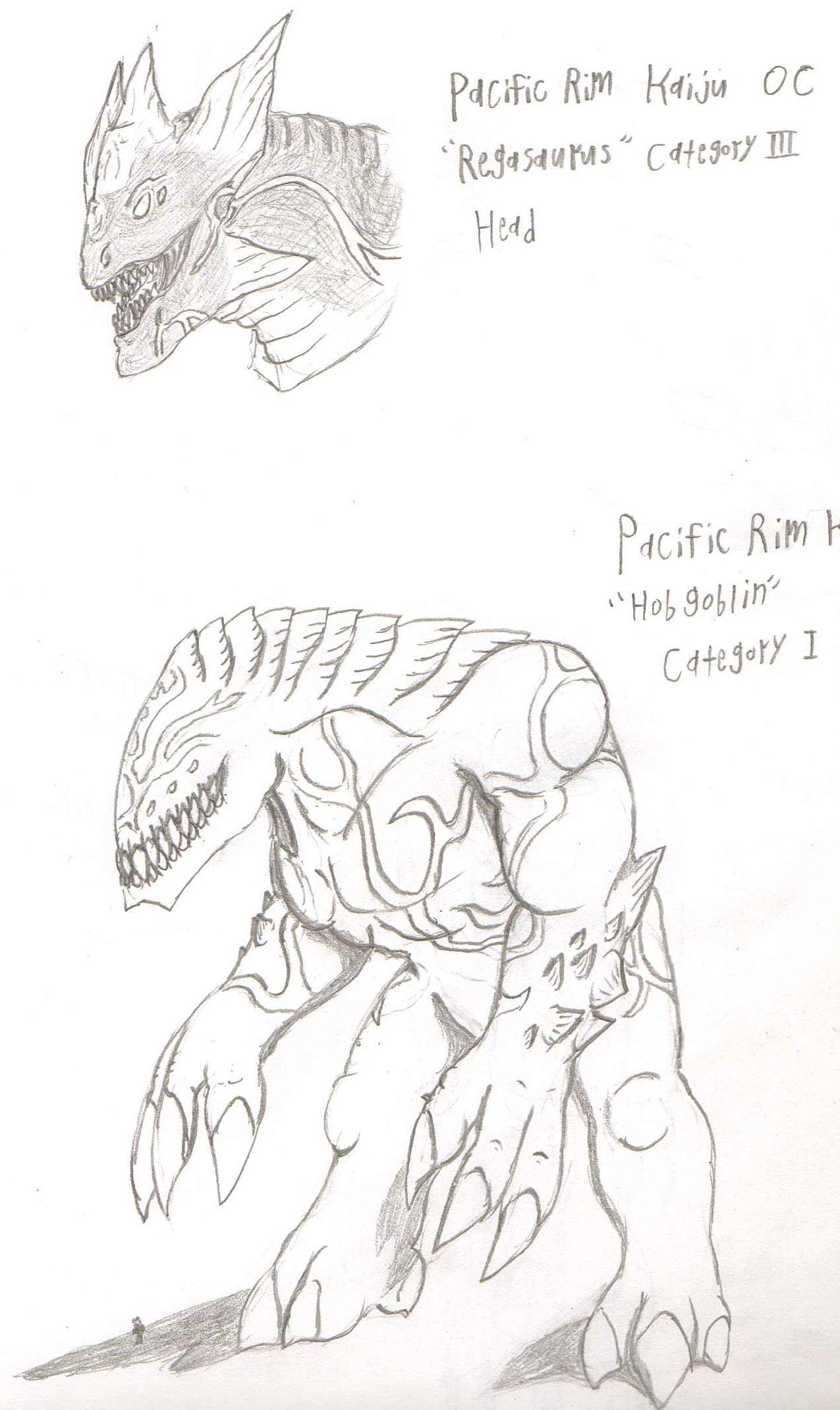 AdventDestiny's Kaiju Fan-Art Gallery Pacific_rim_oc_kaiju_regasaurus_and_hobgoblin_by_adventdestiny-d6etug6
