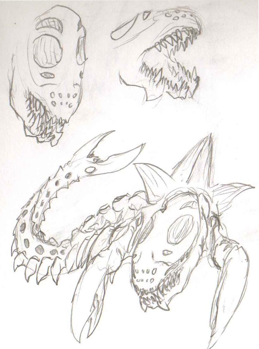 AdventDestiny's Kaiju Fan-Art Gallery Pr_biolator_stage_01_sketch_by_adventdestiny-d6tt4r8
