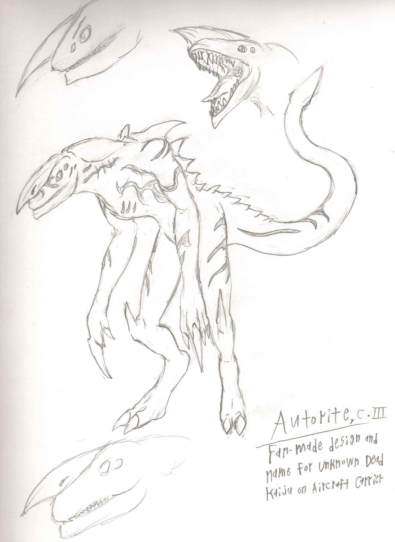 AdventDestiny's Kaiju Fan-Art Gallery Pr_autorite_sketch_by_adventdestiny-d6tt7e0