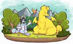 Enjoying spring! | Festival of New Life by DoodleDone
