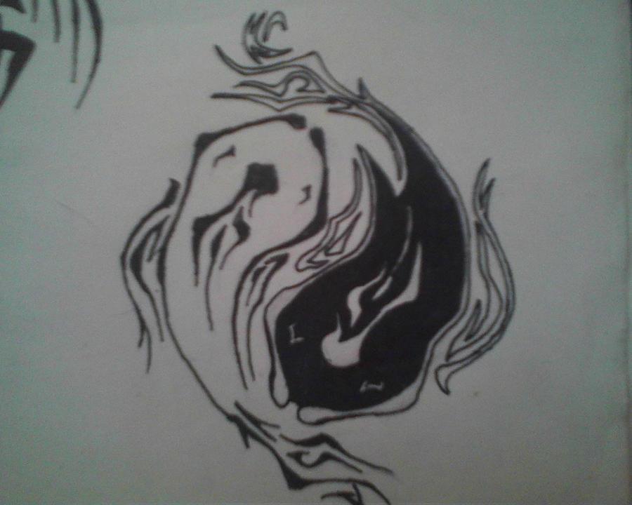 Yin Yang Fish Tattoos
