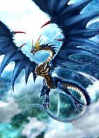 Snow Dragon by pamansazz
