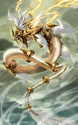 Shining Dragon by pamansazz