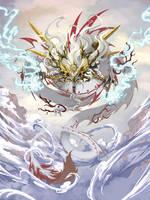 sun dragon by pamansazz