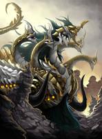 Naga of Ravage by pamansazz