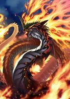 Naga of Wrath by pamansazz