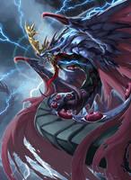 Naga of Fear by pamansazz