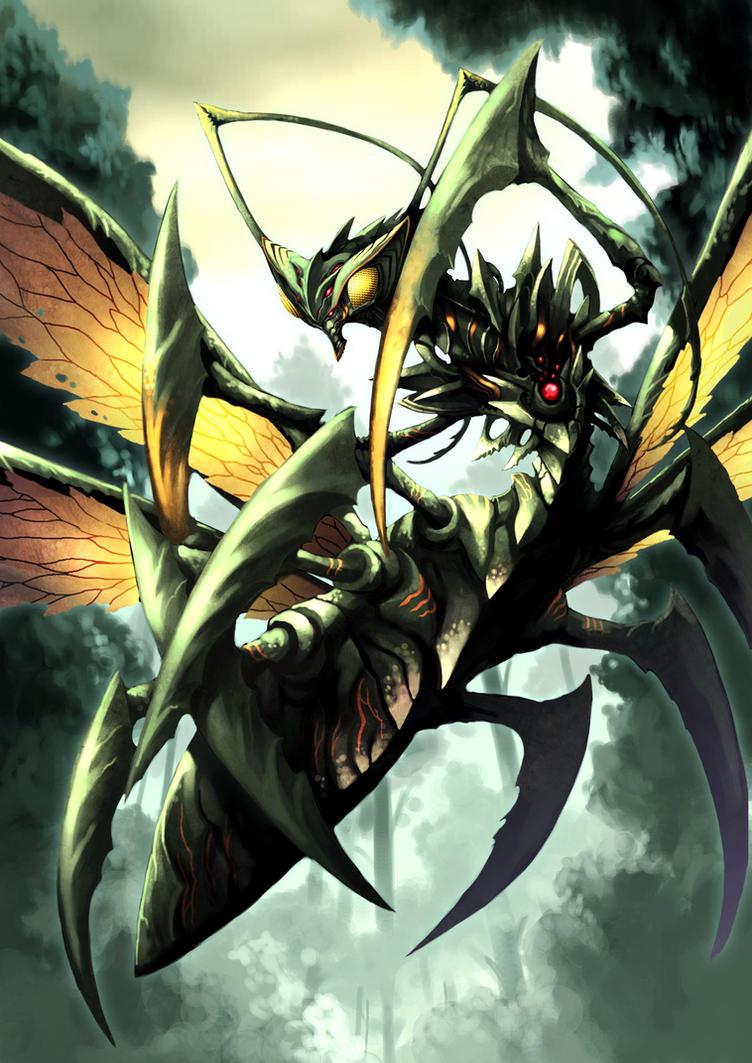 Master-Beast Mantis_ok__by_pamansazz-d7q1r7b