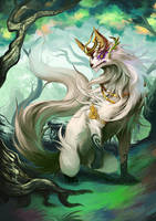 Goddess Wolf copy by pamansazz