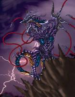 dark dragon by pamansazz
