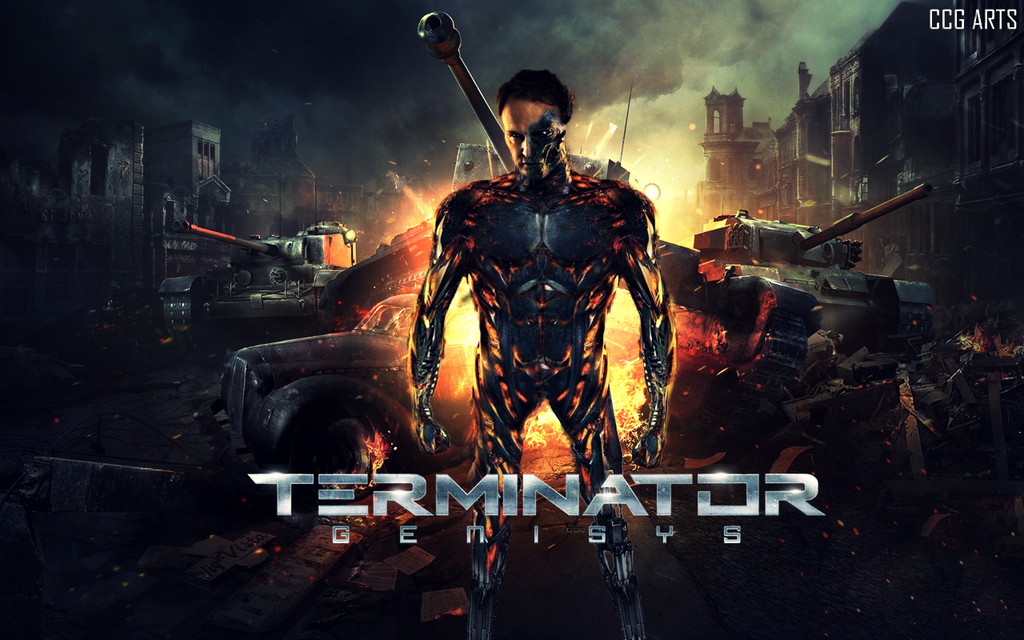 Wallpaper Terminator Genesys By CCG ARTS