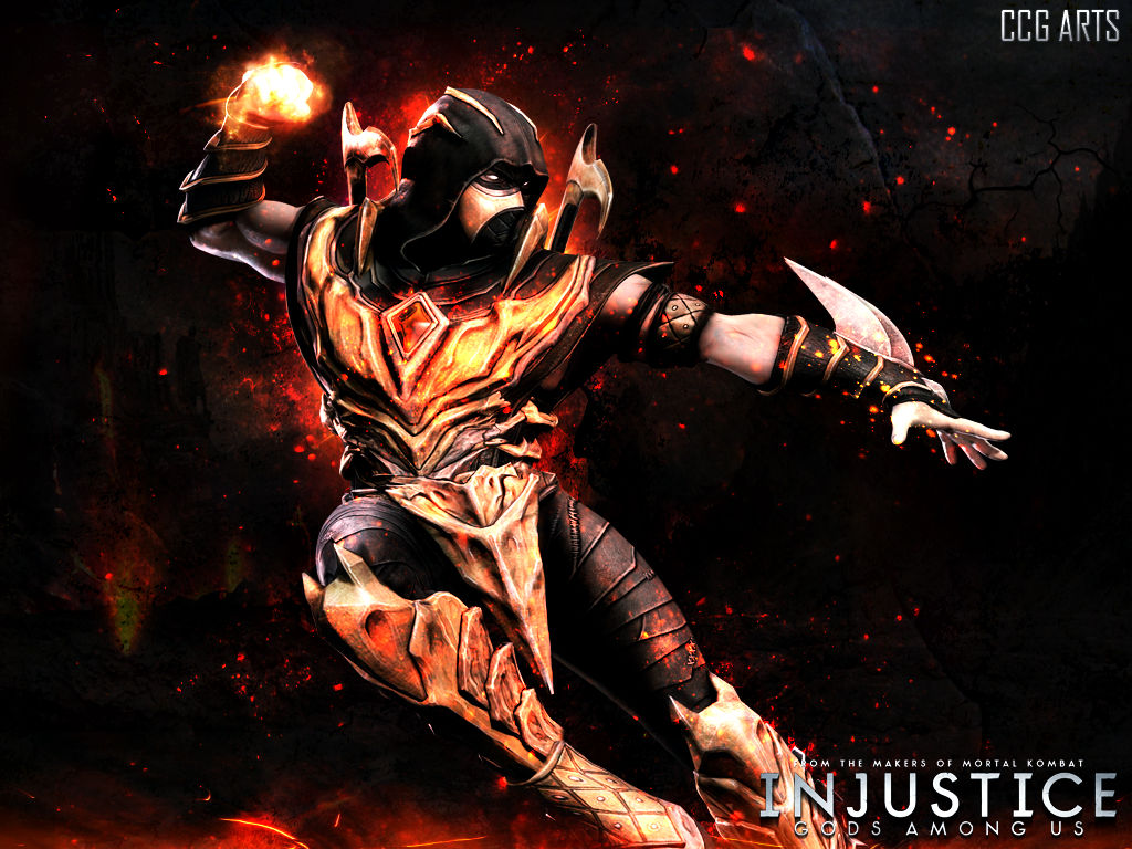Wallpaper Scorpion Injustice Gods Among Us By Ccg Arts On