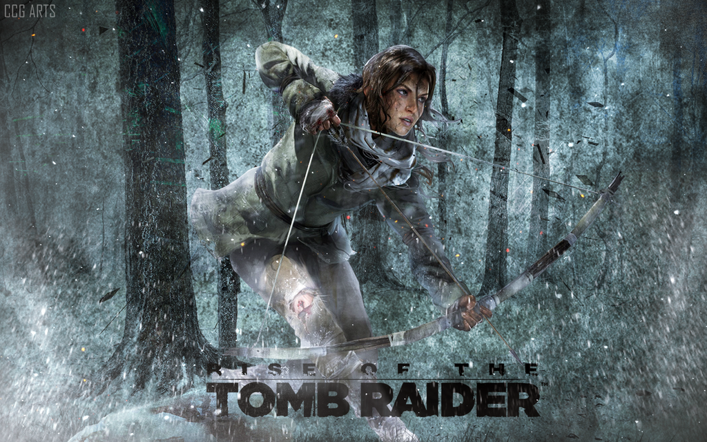 Wallpaper Rise Of The Tomb Raider By CCG ARTS
